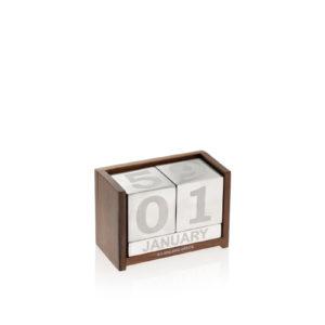 calendario in legno e alluminio a.g. spalding & bros