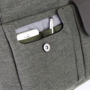 tasca porta penne, cellulare e biglietti da visita