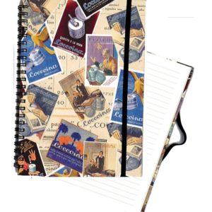 quaderno con spirale collezione coccina