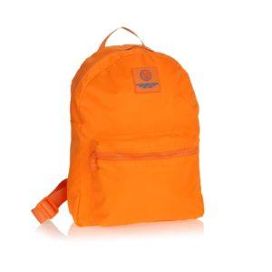 zaino in nylon arancione a.g.spalding & bros porta computer